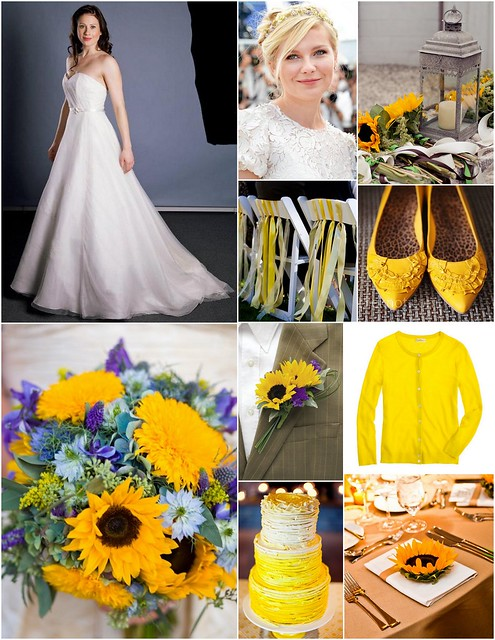 Fall Sunflower Wedding Inspiration