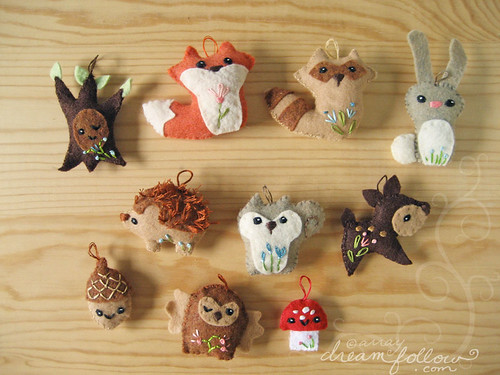 woodland friends collection