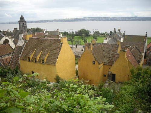 Culross palace panorama