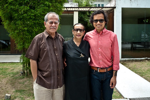Naz and his parents