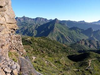 Gran Canaria - Roque Nublo & Roque Bentayga from Artenara