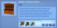Aleister's Alchemy Cabinet
