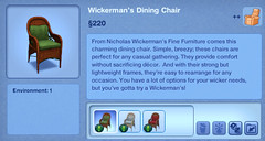 Wickerman's Dining Chair