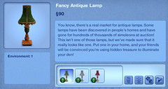 Fancy Antique Lamp
