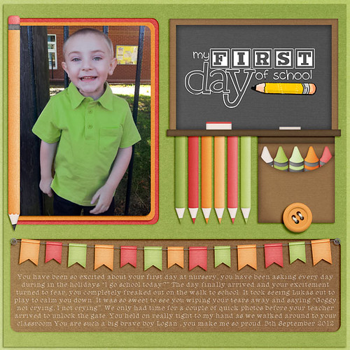 Logan's First Day At Nursery by Lukasmummy