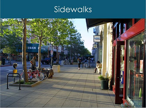 illustration from Walkability Workbook (courtesy of Walkable and Livable Communities Institute)