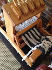 Getting the loom warped up