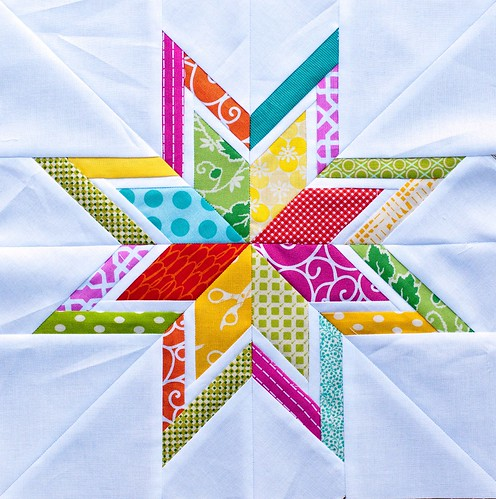 Lone Starburst Block for Megan