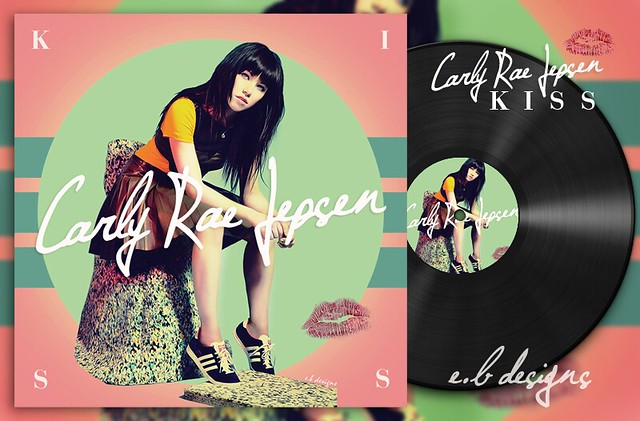 Carly Rae Jepsen - Kiss (Fanmade Album Cover)