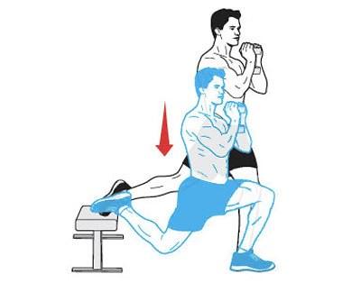 One-leg-squat