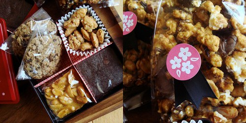 Homemade Candies & Cookies In Japanese Box