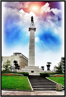 New Orleans La ~ Robert E. Lee Monument ~ Historic Photo 2003