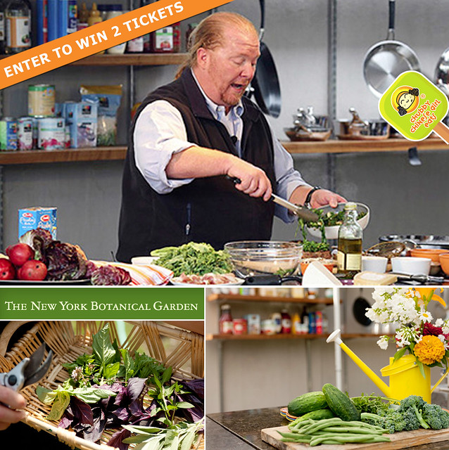 the new york botanical garden with mario batali