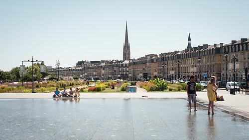 Espelho d'água de Bordeaux, França