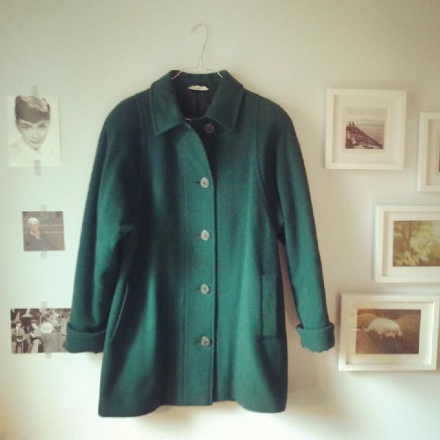 New coat.