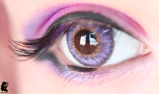 review-Barbie - Puffy 3 tones Violet10