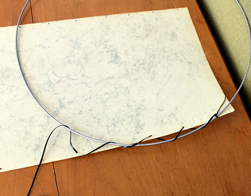 Restoring a vintage fiberglass lampshade