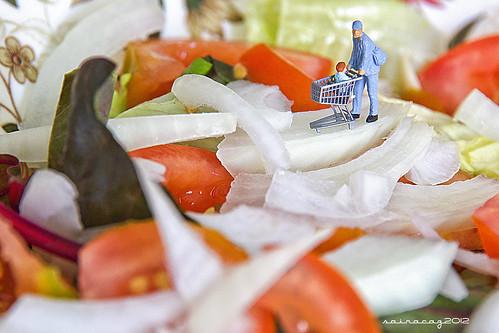 304/365 En un plato de ensalada by sairacaz