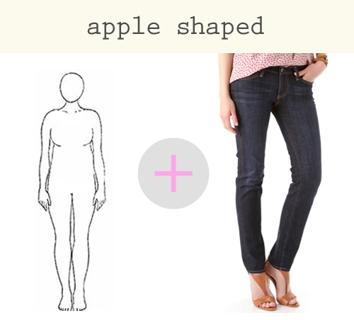 b497f9f7ef695 Denim Guide  How to Find the Right Fit for Your Figure. If you re curvy…  Girls with curvy body types ...