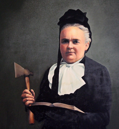 Carrie Nation Portrait
