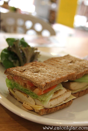 Vegetable Sandwich, Like Mom
