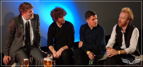 The Establishing Shot: STELLA ARTOIS PRESENTS THE SHUT UP AND PLAY THE HITS PREMIERE QA JAMES MURPHY, WILL LOVELACE, DYLAN SOUTHERN @ HACKNEY PICTUREHOUSE by Craig Grobler
