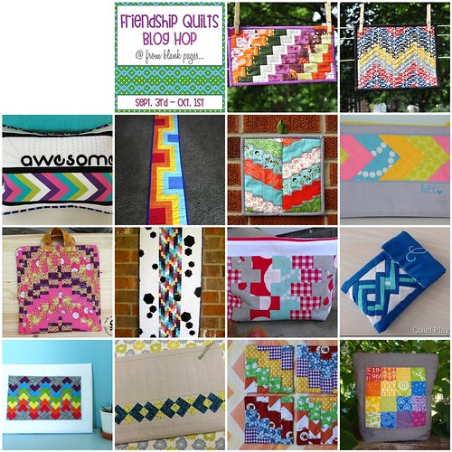 Friendship Quilts Blog Hop Roundup!
