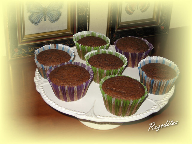 MUFFINS DE CHOCOLATE PARA VICTOR