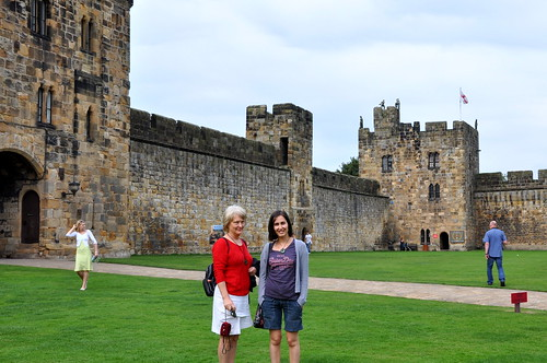 Quidditch learning at Alnwick Castle