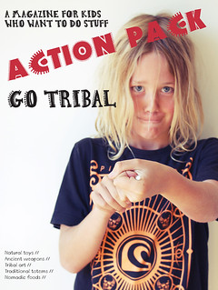 GO TRIBAL Action pack Magazine Cover