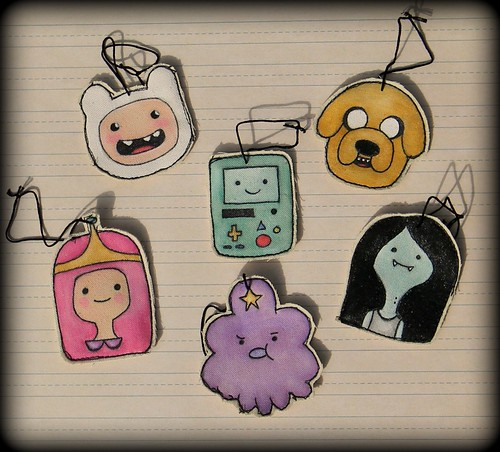Adventure Time Ornament Set