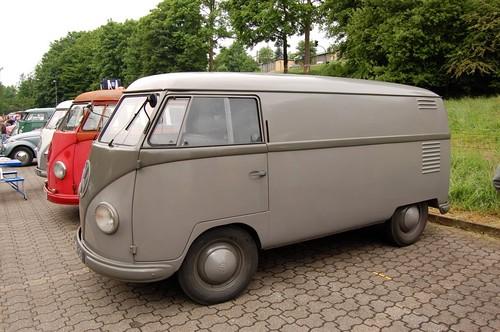 BE-11-00 Volkswagen Transporter bestelwagen 1954