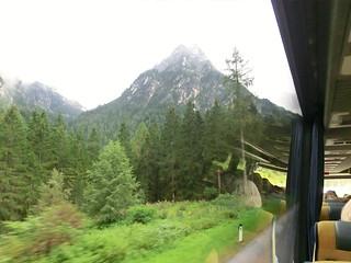 der Alpen Berge entlang 691