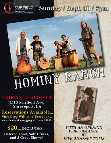 Hominy Ranch promo by trudeau