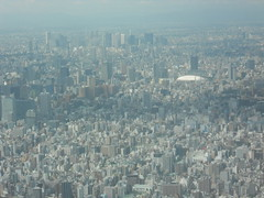 Tokyo Dome and Shinjuku