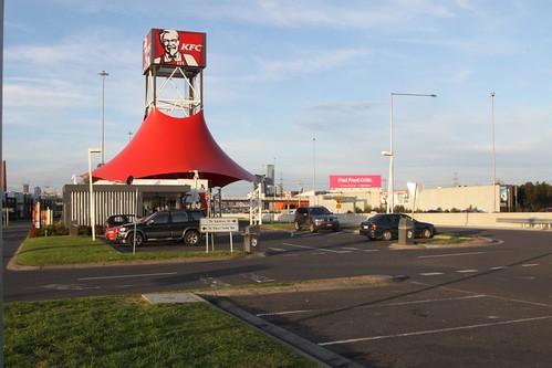 KFC at the eastbound West Gate Bridge service centre
