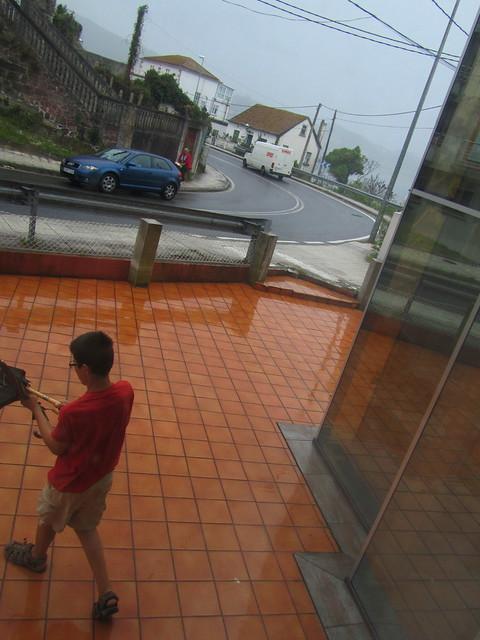 Saliendo un d�a de lluvia