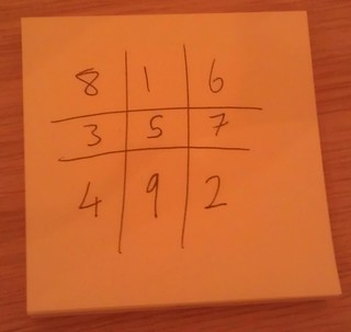 Picking numbers is noughts and crosses