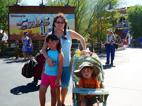 First stop, Cars Land!