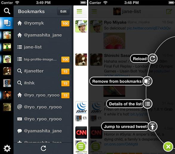 Janetter para iOS - Nuevo cliente de Twitter