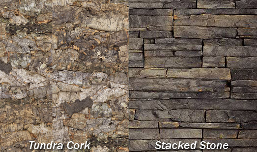 DIY Wall Art - Stacked Stone | GreenClaimed™ Designer Cork Tiles