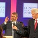 Egyptian President Mohamed Morsi and Former US President Bill Clinton