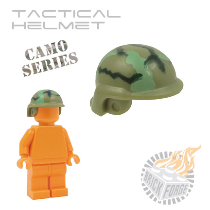 Tactical Helmet - Olive Green (camouflage)