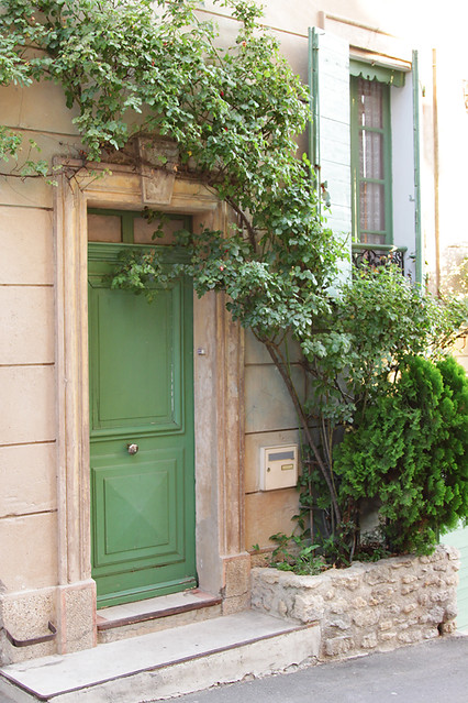 Doorway in Ansouis, France