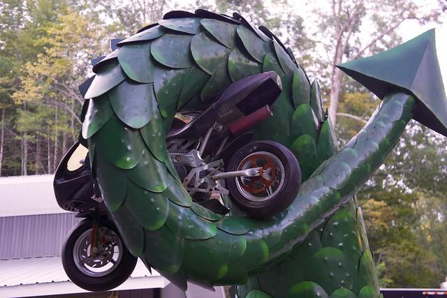 Tail and bike killboy