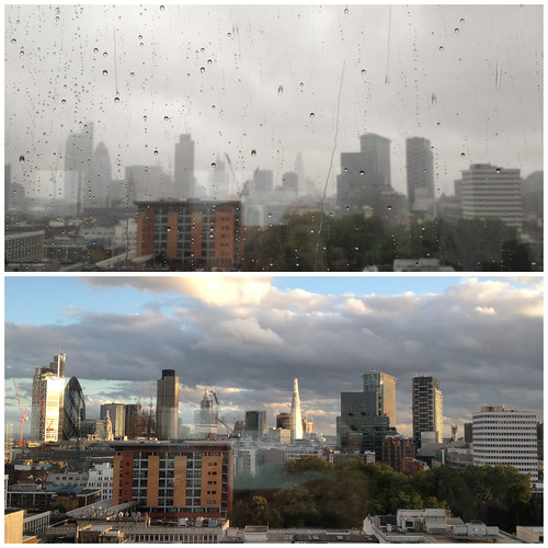 London's changeable weather