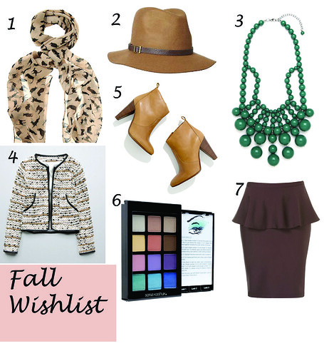 fall 2012 wish list