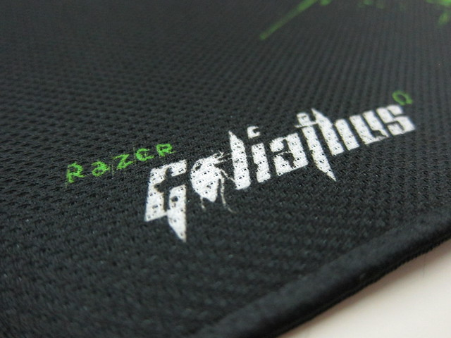 Razer Goliathus Control Edition Mouse Pad - Close Up