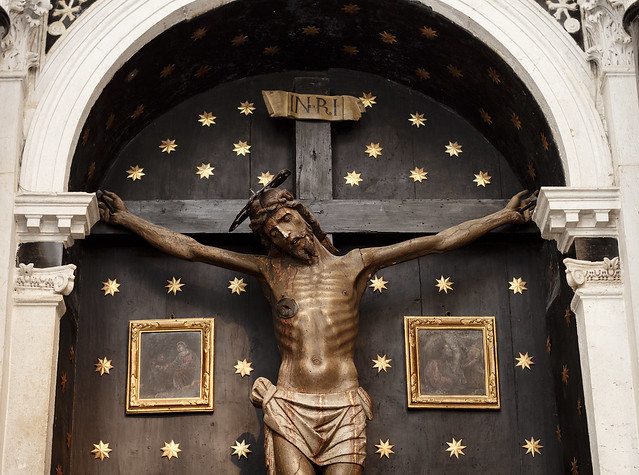 Jesus sculpture - Trogir - Croatia