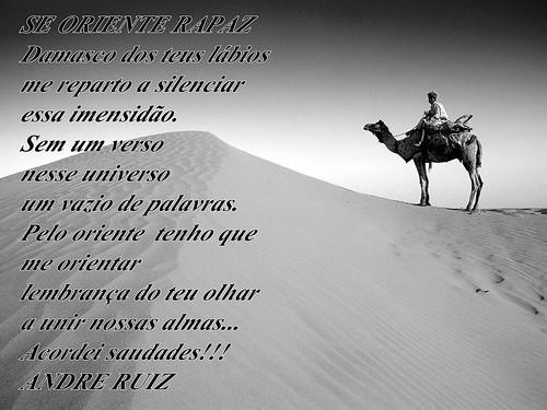 SE ORIENTE RAPAZ by amigos do poeta